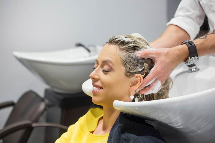 Hårvask eller ikke hos frisøren